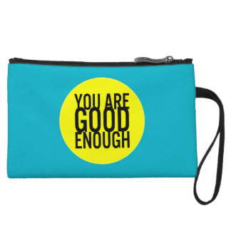 You Are Good Enough (Choose Your Own Color) Wristlet Purse