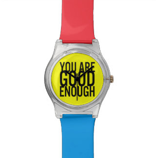 You Are Good Enough (Choose Your Own Colors) Wrist Watch