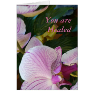 You are Healed Card
