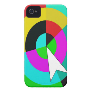You Are Here Color Rings Blackberry Case
