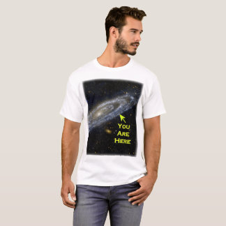 You Are Here in the Galaxy T-Shirt
