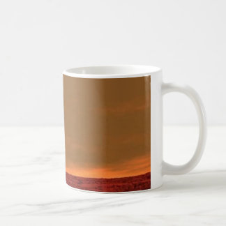 """""""You are here"""" On Mars looking at Earth coffee cup"""