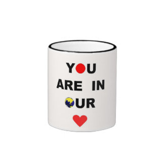You are in our Hearts and Prayers! Coffee Mug