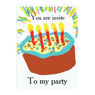 You are invite to my party invitation