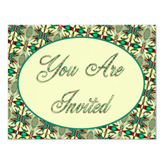 You Are Invited holiday 4.25x5.5 Paper Invitation Card
