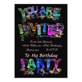 You Are Invited to a Party Card