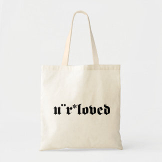 you are loved bag
