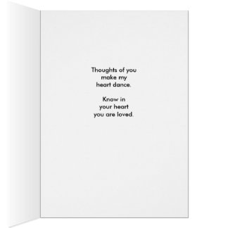 You are Loved! Card