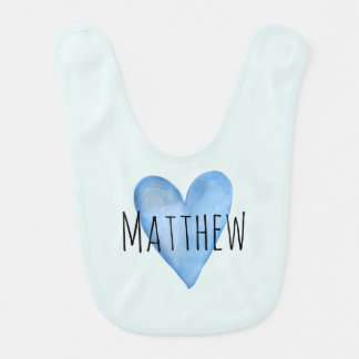 You Are Loved Customisable Boys Bib