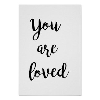 You Are Loved - poster