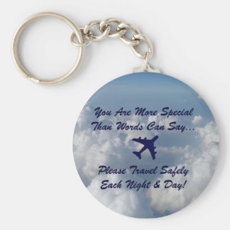 You Are More Special Basic Round Button Key Ring