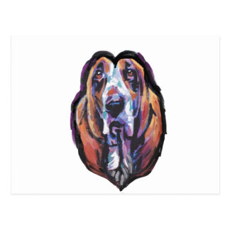 You Are My Basset Hound Heart Postcard