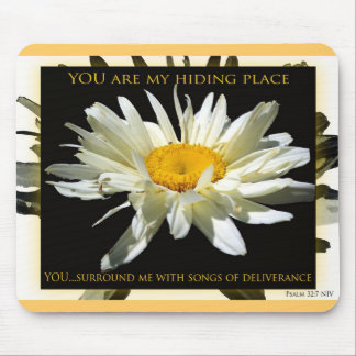 You Are My Hiding Place Mouse Pad