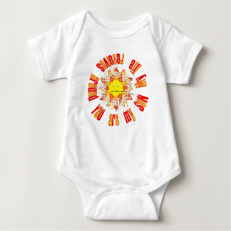 You are my SUN Baby Bodysuit