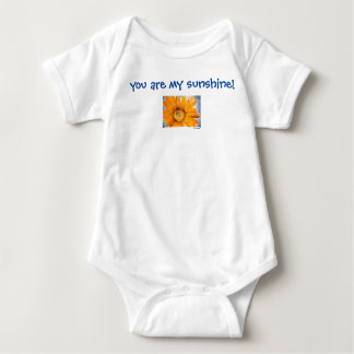 You are My Sunshine Baby Bodysuit