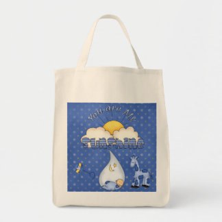 You are My Sunshine Baby Boy Diaper Tote Bag