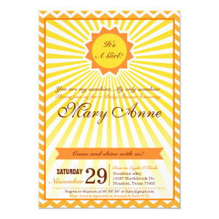 You Are My Sunshine Invitations Announcements Zazzlecomau