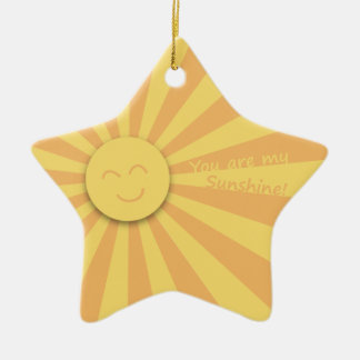You are my Sunshine! Christmas Ornaments