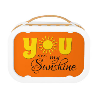 You are my sunshine lunch box