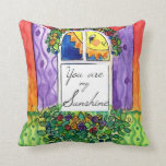 You are my Sunshine My Only by Follow The Moon Art Throw Pillow