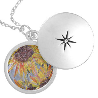 You Are My Sunshine, my only Sunshine Silver Plated Necklace