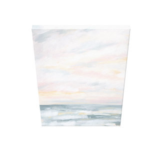 You Are My Sunshine - Pastel Ocean Painting Canvas Print