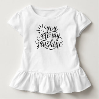 You are My Sunshine Quote | Ruffle Tee