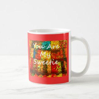 You Are My Sweetie Basic White Mug