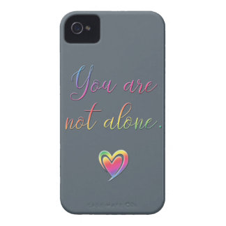 You Are Not Alone Case-Mate iPhone 4 Cases