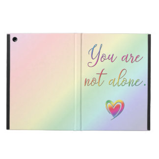 You Are Not Alone iPad Air Cases