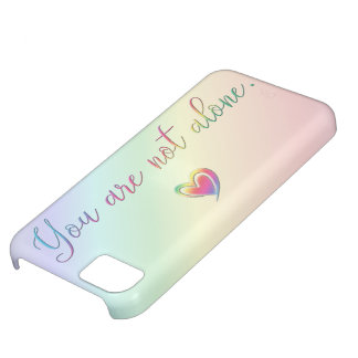 You Are Not Alone iPhone 5C Case