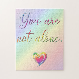 You Are Not Alone/Safety Pin Jigsaw Puzzle
