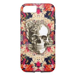You are not here Day of the Dead floral art iPhone 8/7 Case