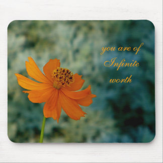 You are of infinite worth mousepad