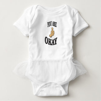 you are okay and the joy baby bodysuit