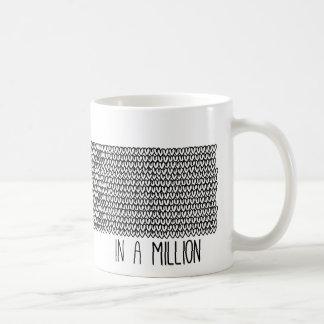 You are One in a Million Mug Basic White Mug