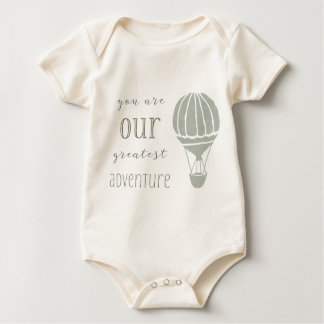 You are our Greatest Adventure Baby Bodysuit