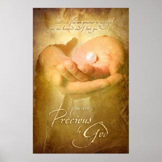 YOU ARE PRECIOUS - Christian Art Poster