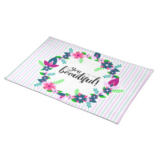 You are so Beautiful! Placemat