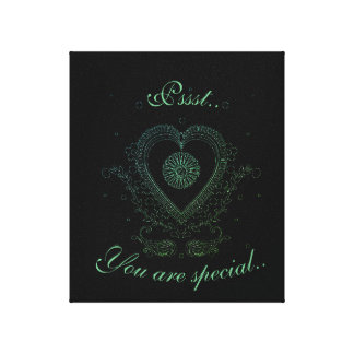 You are special canvas print
