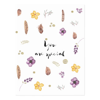 You are Special Postcard