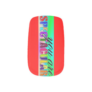 You Are Spectacular Nails Stickers
