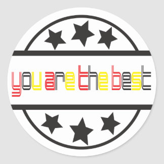 You are the best Sticker