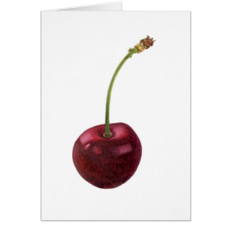 You are the cherry on top! greeting card