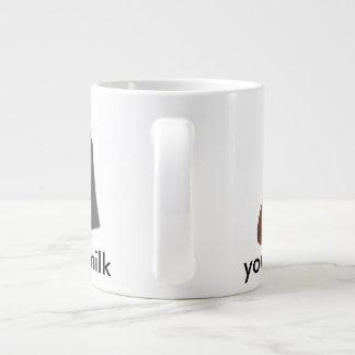 you are the cookies to my milk jumbo mug