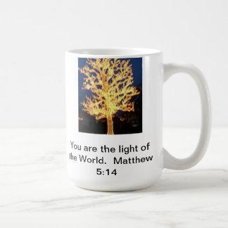 You are the Light of the World  Mug