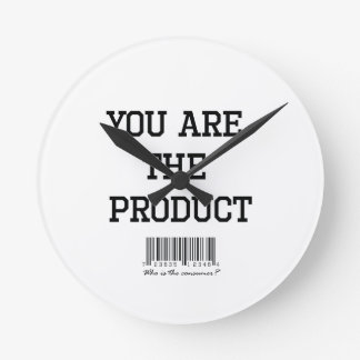 You are the product tshirt round clock