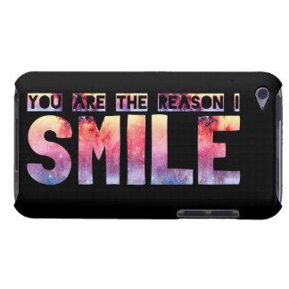 You Are The Reason I Smile iPod Case-Mate Case