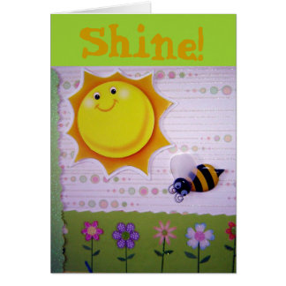You are the sunshine! card