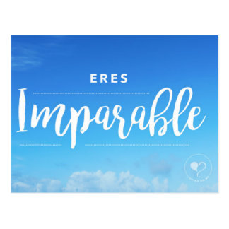 You are Unstoppable (Spanish) Postcard